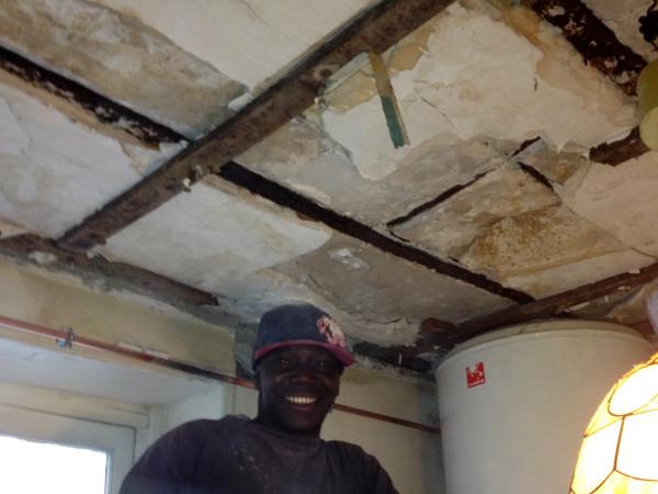 Reprise de plafond